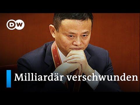 Wo steckt Alibaba Gründer Jack Ma, Chinas bekanntester Milliardär? | DW Nachrichten