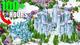 I Spent 100 HOURS Building A MASSIVE Underwater Kingdom In Minecraft!