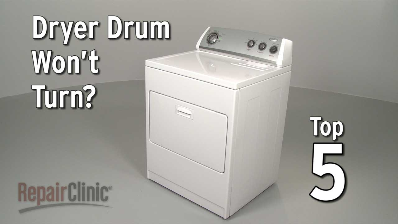 Electric dryer drum wont turn dryer troubleshooting youtube electric dryer drum wont turn dryer troubleshooting sciox Image collections