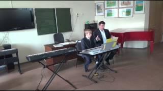 Открытый урок. Аранжировка эстрадных и джазовых произведений в классе синтезатора.