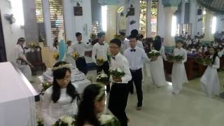 Dâng hoa kính Mẹ T5-2016 - Giáo xứ Lái Thiêu