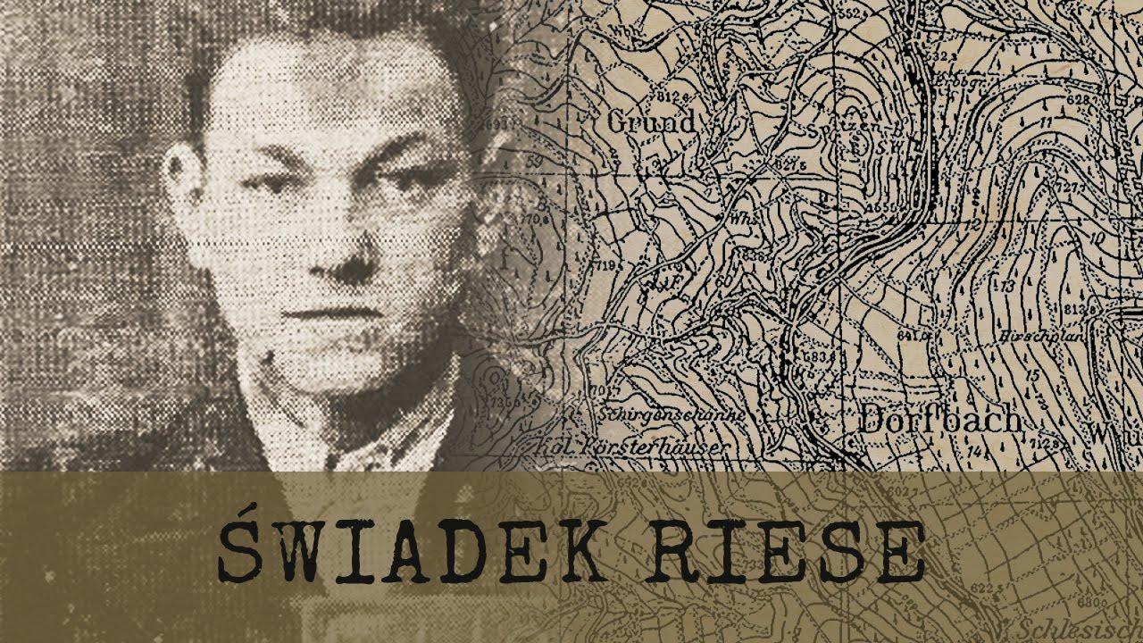 Ocalały świadek budowy Riese – Hieronim Grębowicz - Zapowiedź