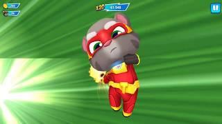 Играем Talking Tom Hero Dash! Кот Том супергерой!  Детские игры! Kid Game Android Gameplay!