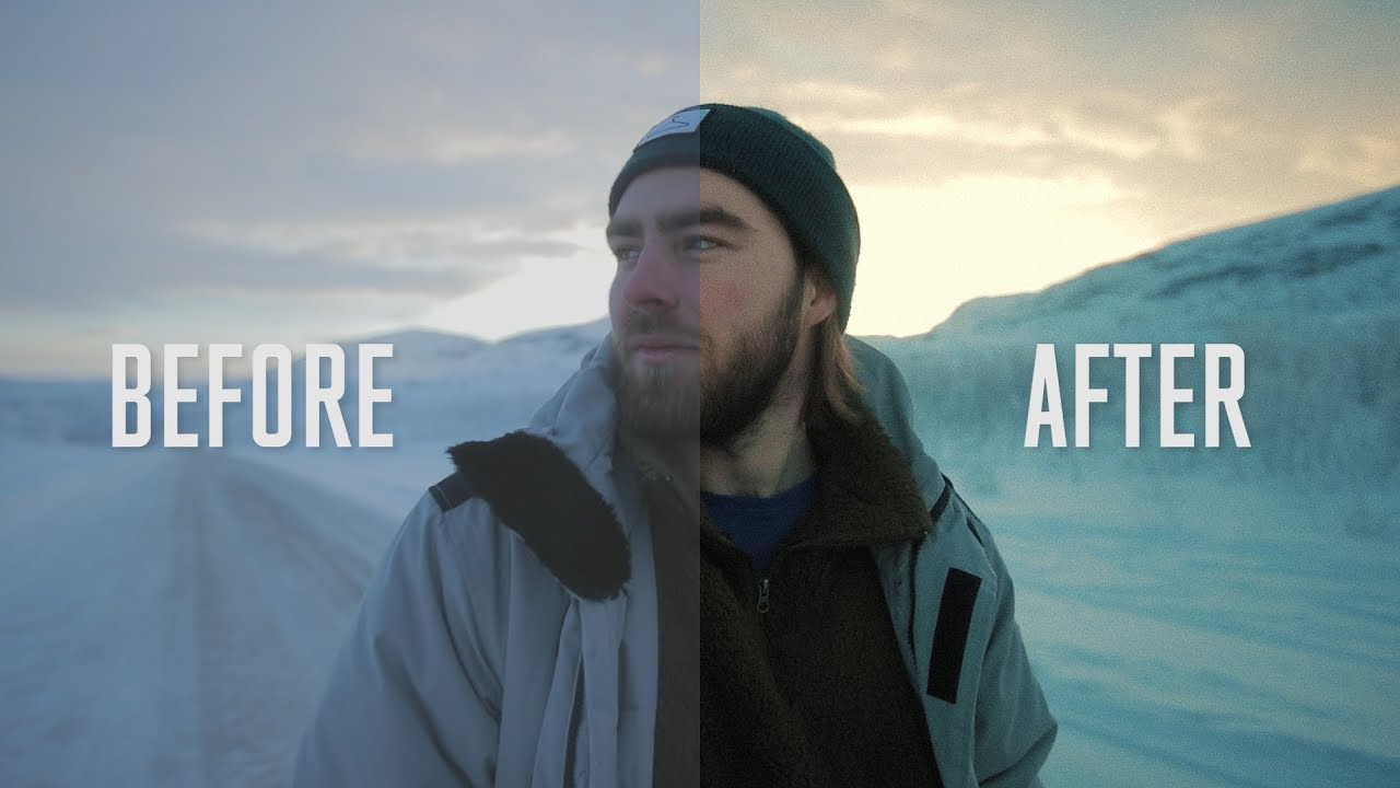 Cinematic Color Grading In Premiere! - YouTube