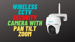 Wireless CCTV Security Camera With Pan Tilt Zoom