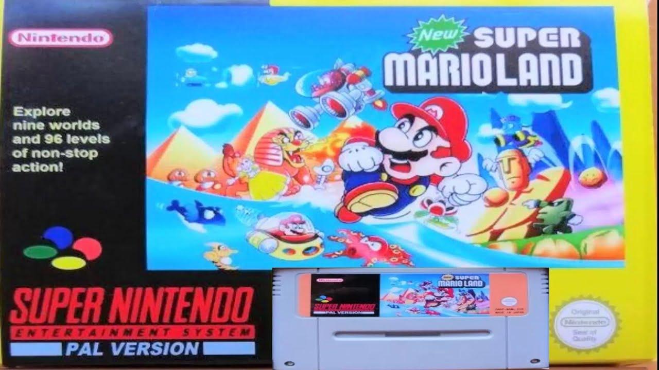 New Super Mario Land Super Nintendo