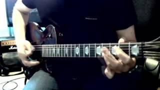 Pendulum - The Island Part 1 (Dawn) guitar cover