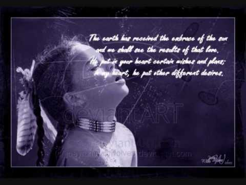 Sacred Spirit Native American Quotes YouTube Inspiration Native American Quotes