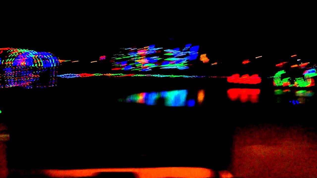 Christmas lights in the park 2014 Yukon, Oklahoma - YouTube
