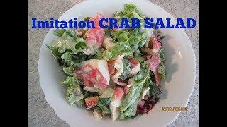 Crab Salad Imitation
