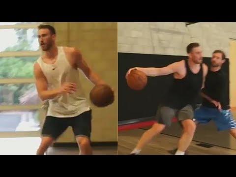 Gordon Hayward Returns To Playing Basketball After Horrific Injury & Gets Ready For Celtics Season!