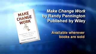 Are you a dodo or a coyote? Randy Pennington Make Change Work