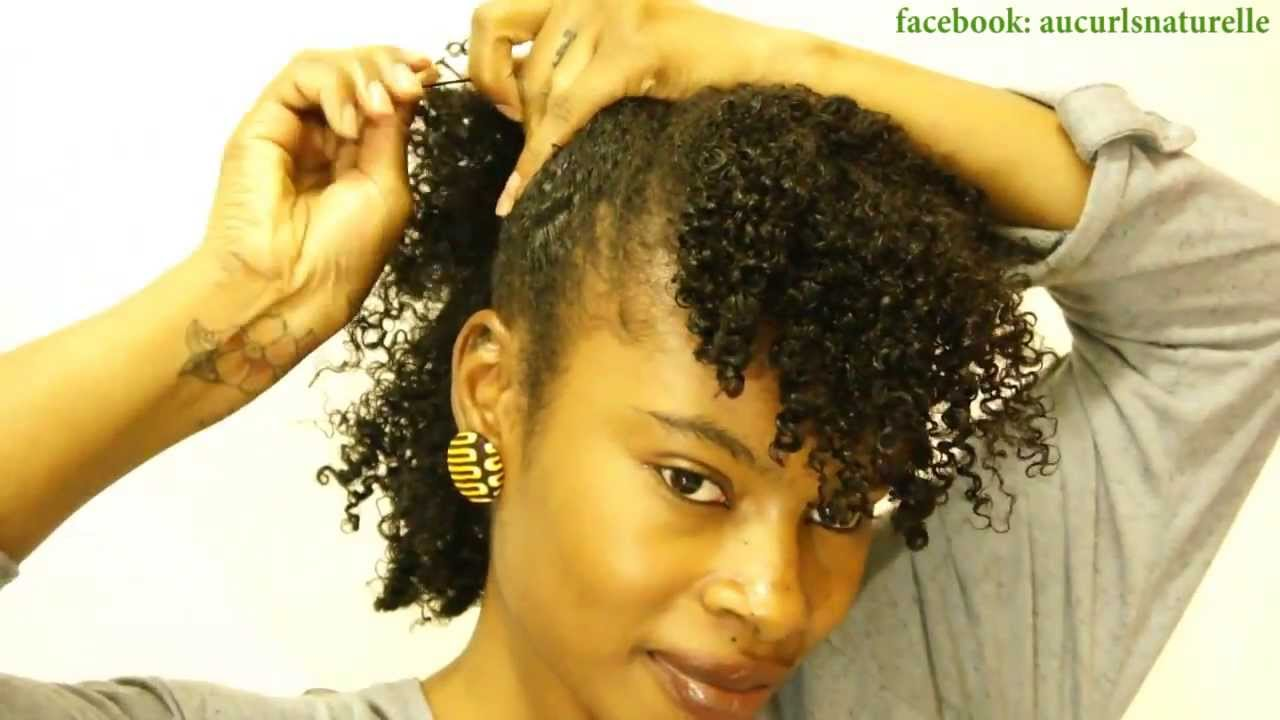 Tightly Curly Method Simple Hairstyles For Wash N Go