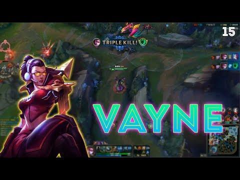 Vayne Montage 15 - Vayne 1v5 Pentakill - League of Legends