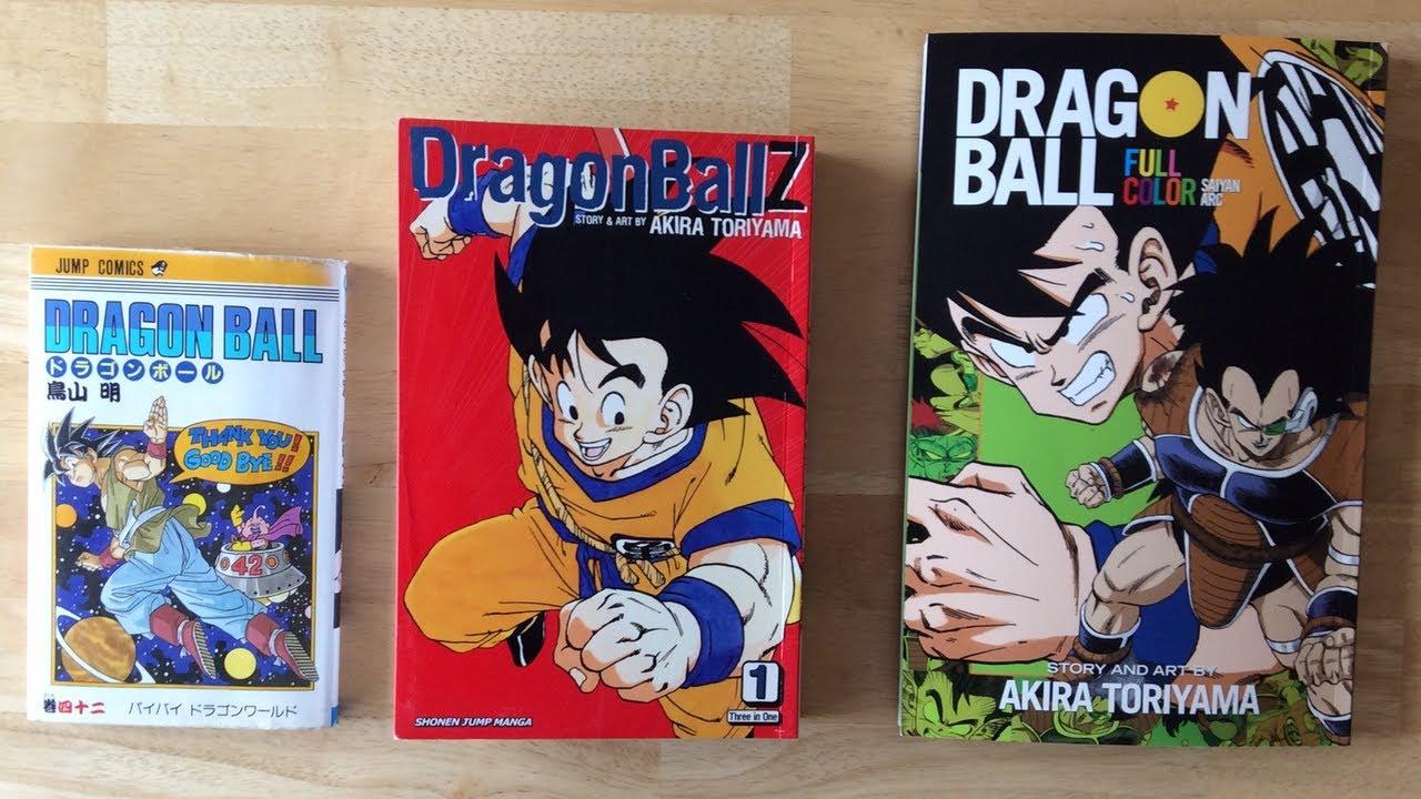 Dragon Ball Color Vol 1 Manga Review Youtube