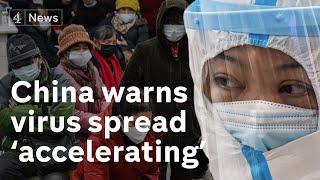 Coronavirus spread is 'accelerating' sa...