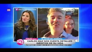 El galán del momento nos visita en Hola Chile: Carlos Díaz nos cuenta sobre su vida y proyectos