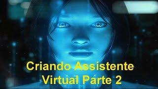 Criando um Assistente Virtual   Parte 2 Interface Básica do Form