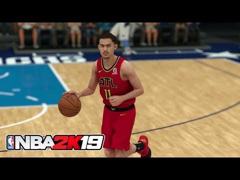 NBA 2K19 - Trae Young vs Luka Doncic - Atlanta Hawks vs Dallas Mavericks Gameplay