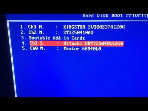 Bios sistem başlangıç ayarı-Boot ayarı nasıl yapılır- HDD lerin sırasını belirleme