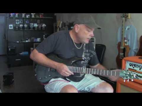 LTD F100FM Electric Guitar Demo