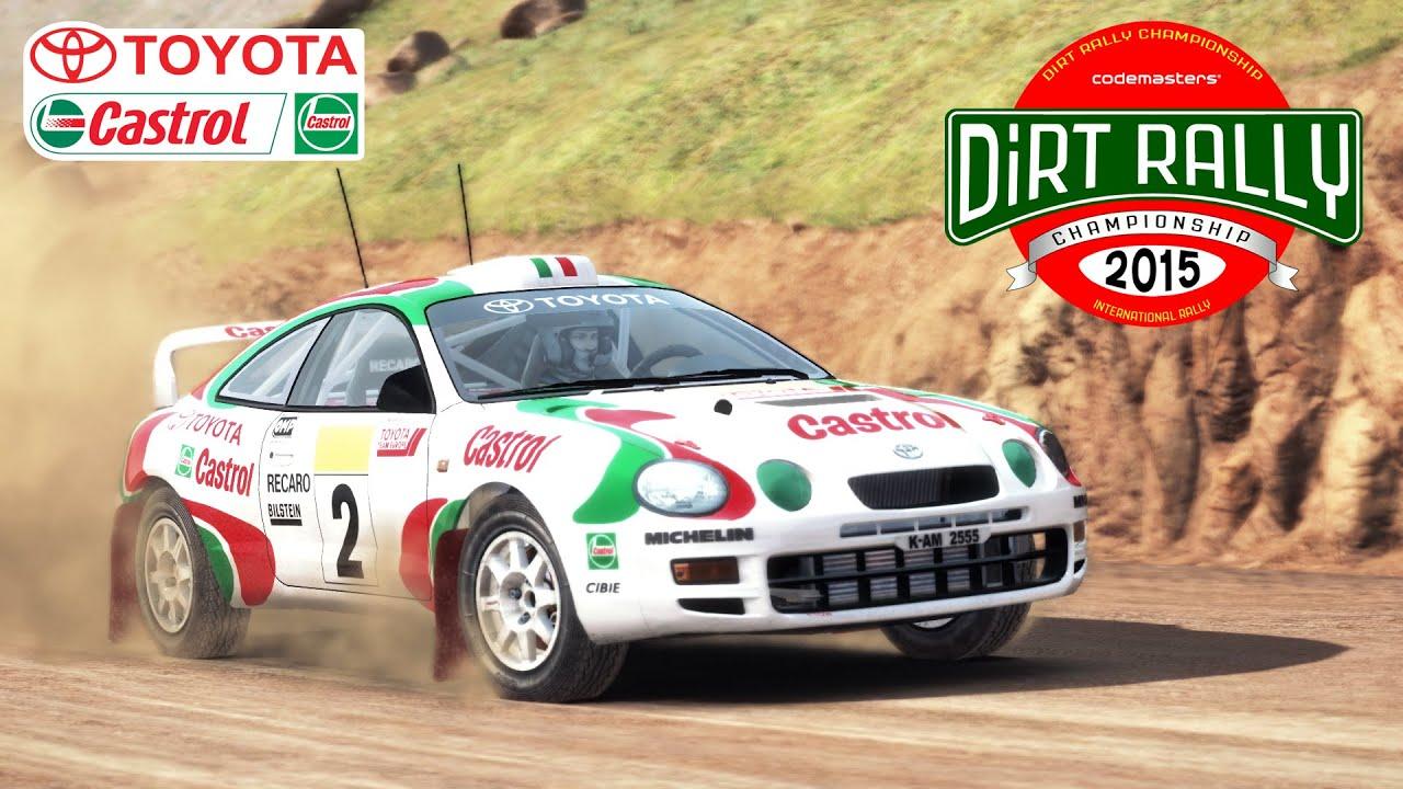 Dirt Rally Sega Edition Castrol Toyota Celica Gt Four