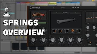 Springs Overview - Spring Reverb + Baxandall EQ Plugin (VST, AU, AAX)