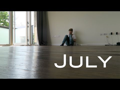 July – Pretentious Monthly Scrapbook 2017