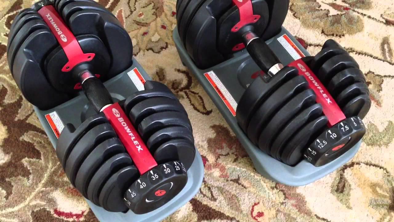 BowFlex SelectTech 552 Dumbbells Fast Review