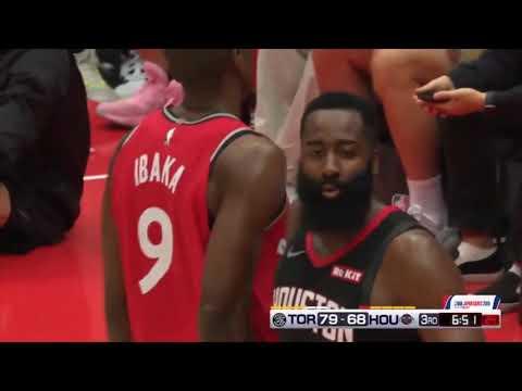 Toronto Raptors Vs Houston Rockets  Full Game Highlights  NBA Preseason