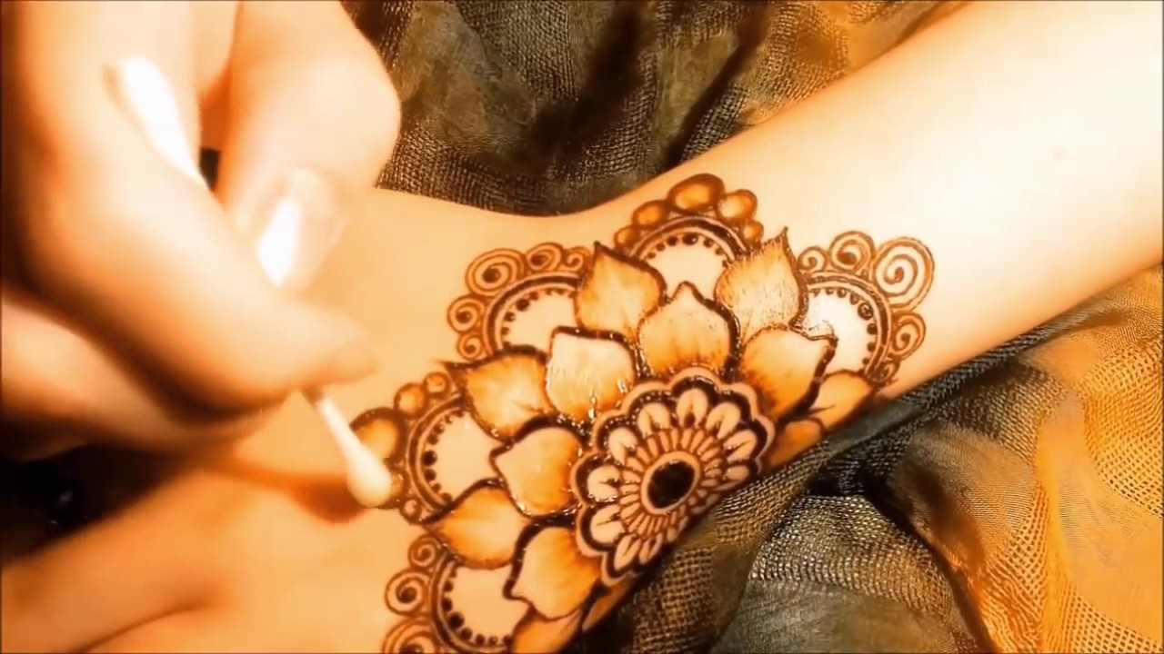 Most Beautiful Arabic Henna Mehndi Designs For Hands For