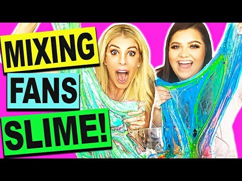 Download Youtube: DIY MIXING FANS SLIMES WITH KARINA GARCIA! (GIANT SLIME SMOOTHIE NO BORAX)