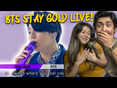BTS Stay Gold Live Performance – SHOOK COUPLES REACTION!