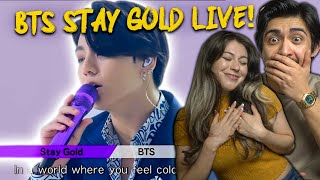 BTS Stay Gold Live Performance - SHOOK COUPLES REACTION!