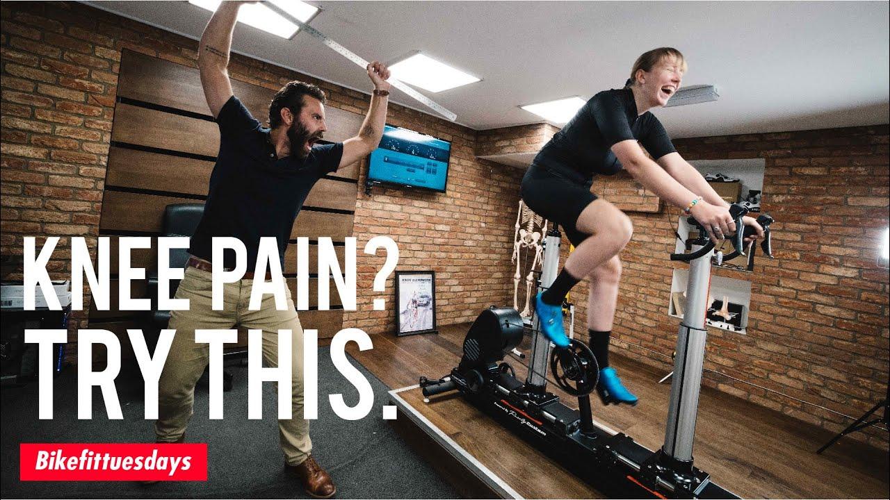 How to FIX Knee Pain on the Bike - BikeFitTuesdays