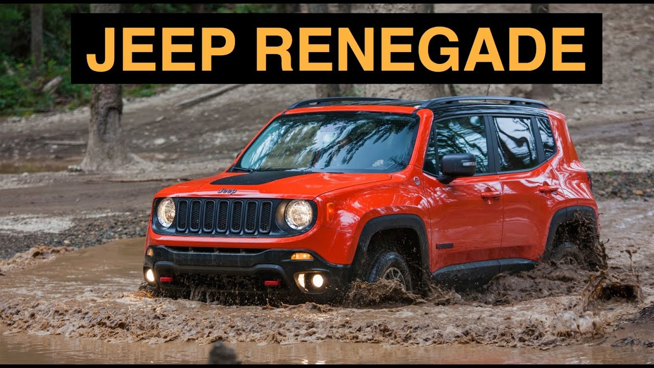 2015 Jeep Renegade Trailhawk 4x4   Off Road And Track Review   YouTube