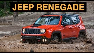2015 Jeep Renegade Trailhawk 4x4 - Off Road And Track Review