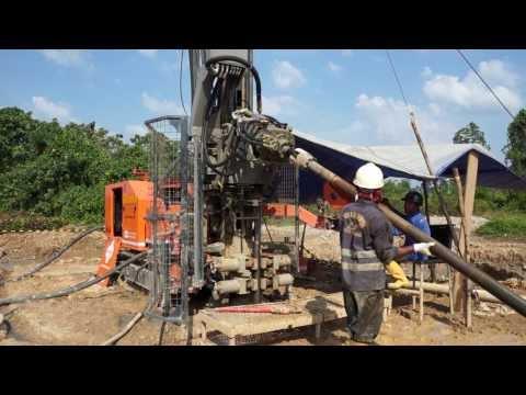 Multitec 9000 Multipurpose Drilling Rig  in Indonesia