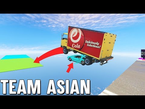 FLIEG MICH DA RÜBER ? LEVEL ASIAN TEAM PARCOUR (GTA 5 Online) thumbnail