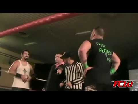 Fred Roméo VS Pat Lacroix FCW Champion of the ring sept 3rd 2016