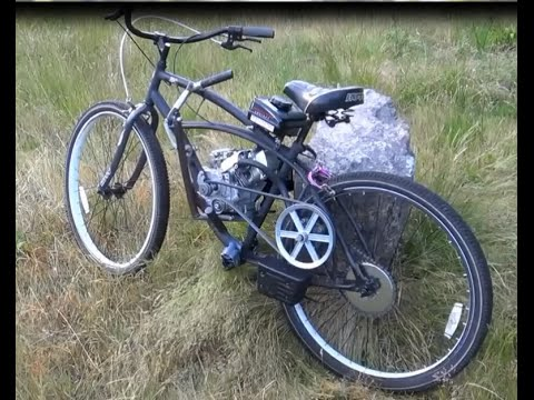 Homemade Motorized Bike Youtube