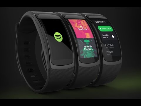Samsung Gear Fit 3 With Multi Colours || Concept ||