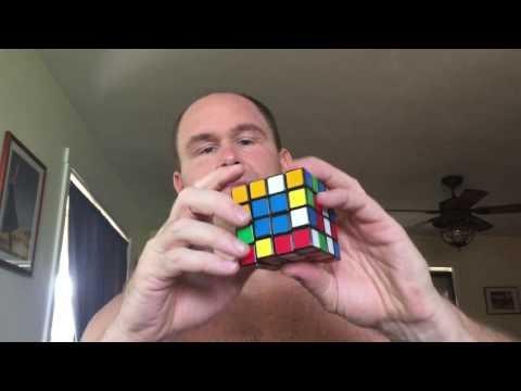 Rambling on as I demonstrate the rebellious nature of the Rubik's Revenge.