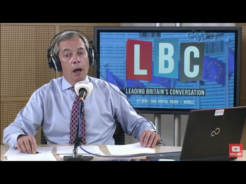 The Nigel Farage Show: Article 50 - Brexit Tomorrow. Live LBC - 28th March 2017