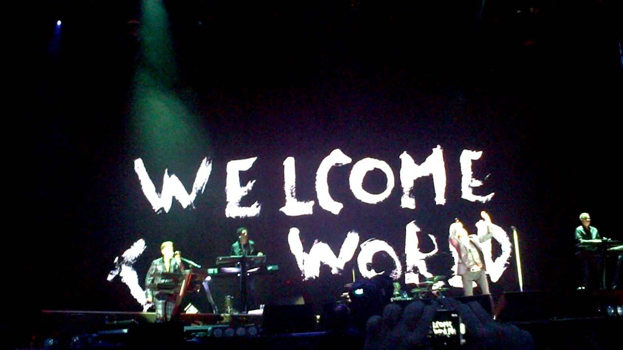 Rain Fall Live Wallpaper Welcome To My World Depeche Mode Live In Sofia 2013