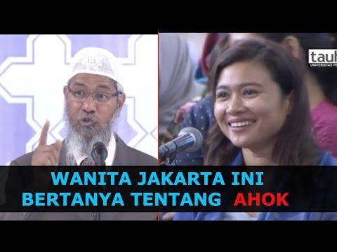 Wanita Ini Bertanya Tentang Gubernur Jakarta Ahok || Dr  Zakir Naik