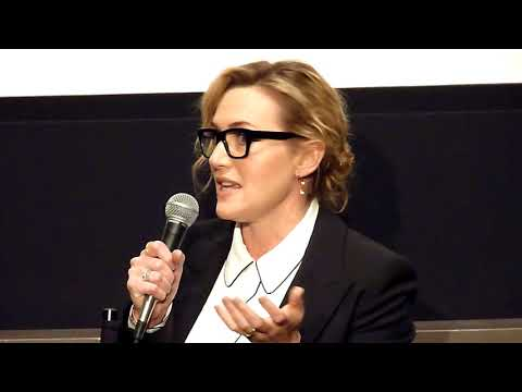 Kate Winslet ('Wonder Wheel') impersonates Woody Allen convincing her to take the part