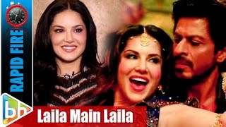 Sunny Leone's WITTY Rapid Fire On Shah Rukh Khan | Laila Main Laila | Raees