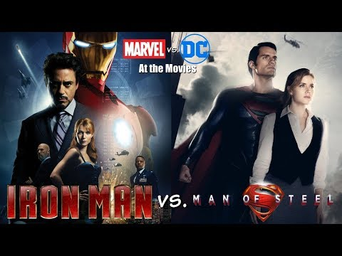 Iron Man vs. Man of Steel - Marvel vs. DC At the Movies