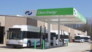 Газовые заправки и автотранспорт в США